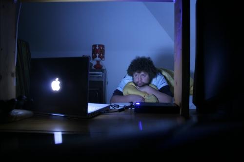 """Das alte Zimmer mit """"neuer"""" Technik"""