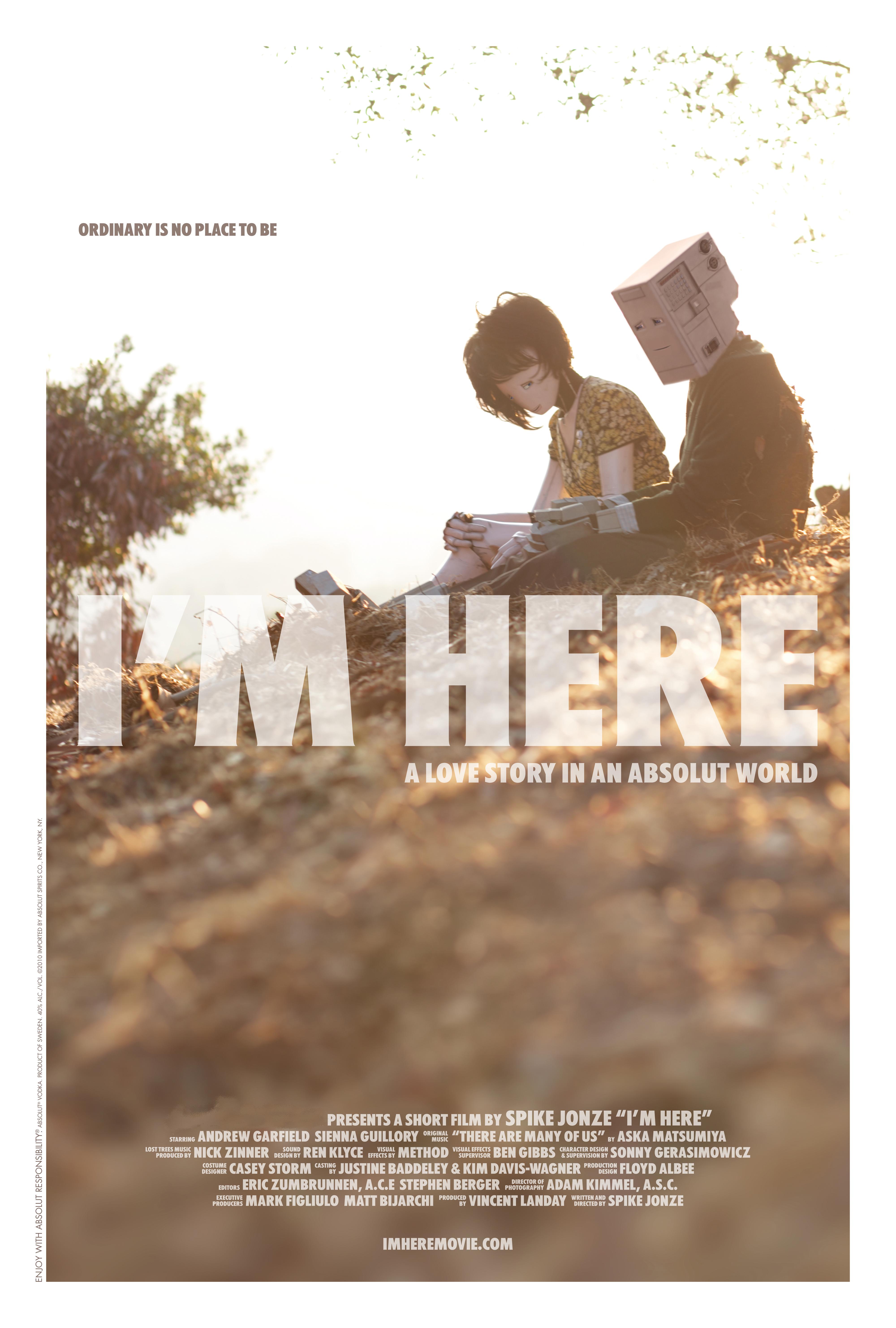 Скачать фильм Я здесь / I'm Here (2010) DVDRip бесплатно и в хорошем